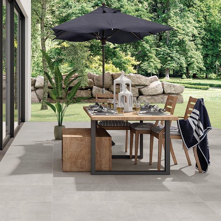 Fliesen für Außen-Bereiche, Terrassen, Einfahrten, Garagen | Fliesen Bruère Leverkusen