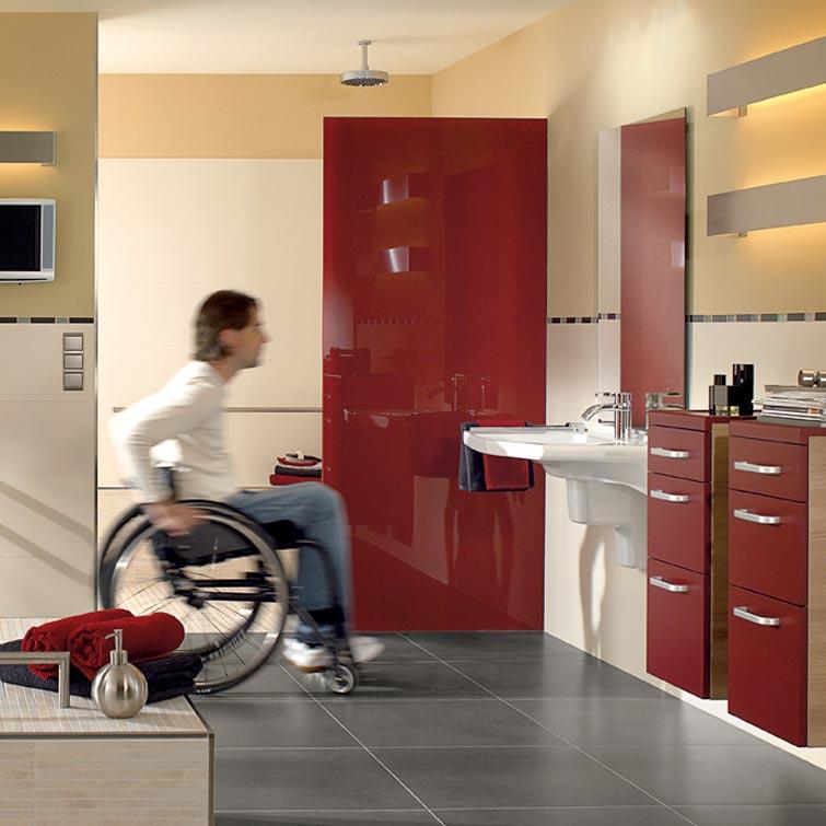 Fliesentrends: Behinderten-gerechtes Bad | Fliesen Bruère