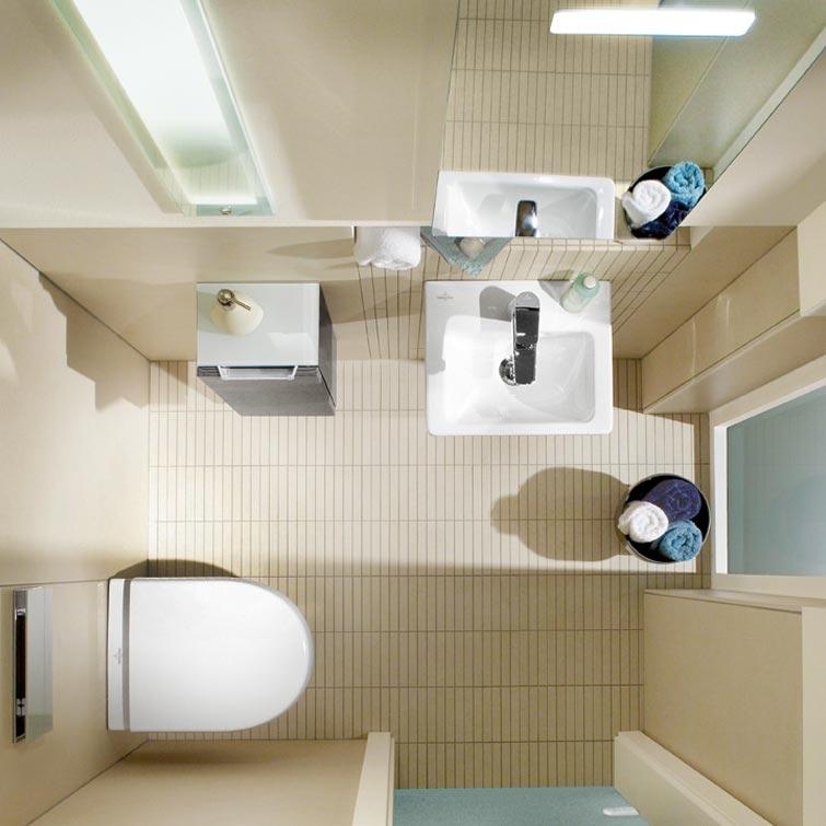 Fliesentrends: Kleines Bad einrichten | Fliesen Bruère