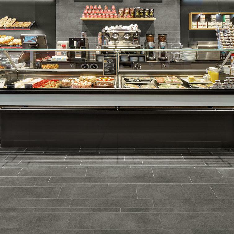 Fliesen für Geschäfte, Einzelhandel, Supermärkte | Fliesen Bruère Leverkusen